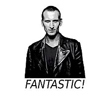 Doctor Who - Fantastic! - 9th Doctor Photographic Print