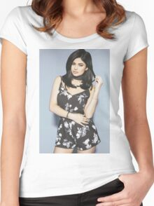 Kylie Jenner Pact Women's Fitted Scoop T-Shirt