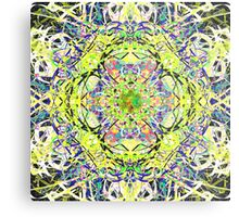 Juicy Liquid Paint Mandala Nineteen Metal Print
