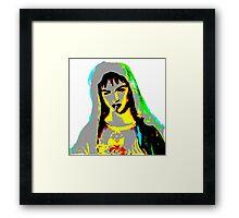 zef nun Framed Print