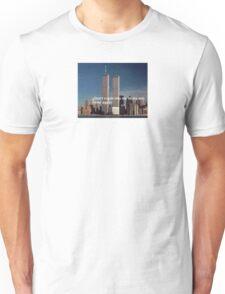 Twin towers meme Unisex T-Shirt