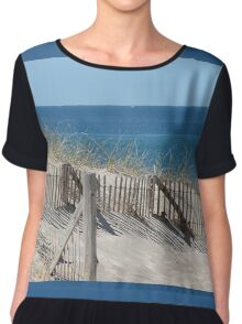 Protector of the dunes Chiffon Top