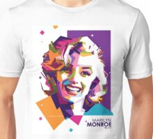 Marilyn Monroe on WPAP Unisex T-Shirt
