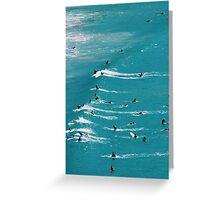Beach Surf Greeting Card