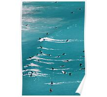 Beach Surf Poster
