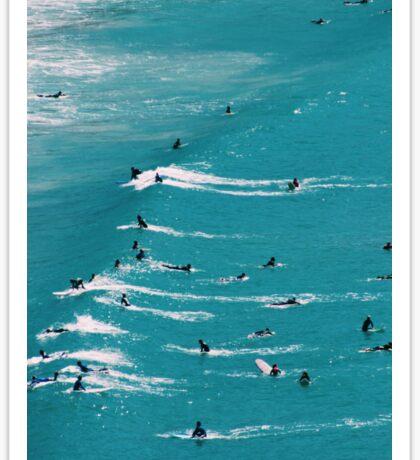 Beach Surf Sticker