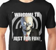 JUST FOR FUN SKULL Unisex T-Shirt