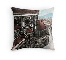Il Duomo - Florence, Italy Throw Pillow