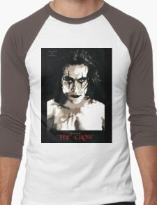 The Crow Men's Baseball ¾ T-Shirt