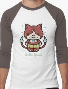 Hello Yokai Men's Baseball ¾ T-Shirt