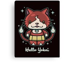 Hello Yokai Canvas Print