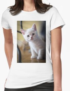British Shorthair Kitten Womens Fitted T-Shirt