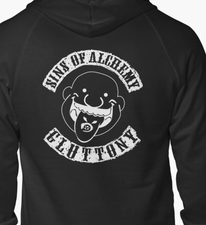 Sins of Alchemy - Gluttony v2 Zipped Hoodie