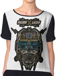 Major Lazer Chiffon Top