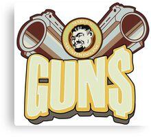 Marcus guns Canvas Print