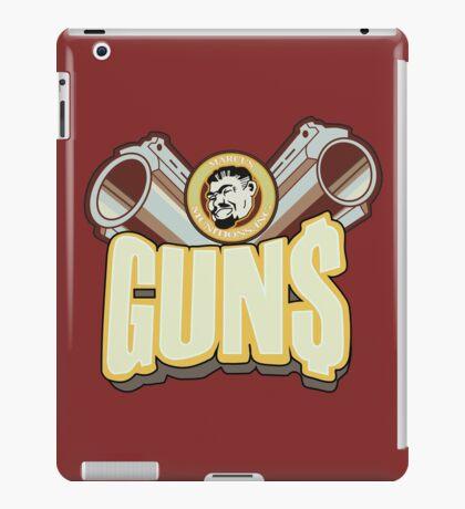 Marcus guns iPad Case/Skin