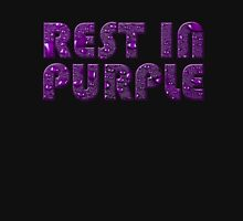 rest in purple Womens Fitted T-Shirt