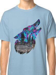 Double Exposure Harry Potter Werewolf Hogwarts Silhouette Classic T-Shirt