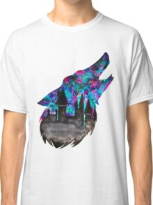 Double Exposure Harry Potter Werewolf Hogwarts Silhouette Classic T-Shirt