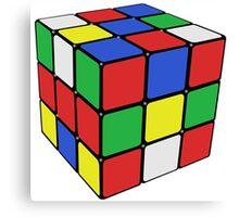 Rubik Cube Canvas Print
