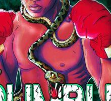 Muhammad Ali- Rumble In The Jungle (Black variant) Sticker