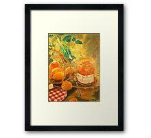 Apricot break Framed Print
