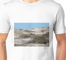 Sand dunes in the spring Unisex T-Shirt