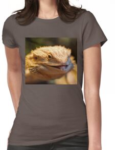 Cheeky Smaugling's Tongue Womens Fitted T-Shirt