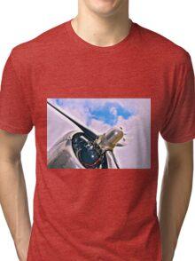 DC 3 Propellor Tri-blend T-Shirt