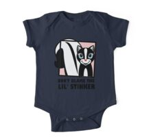 DON'T BLAME THE LIL' STINKER One Piece - Short Sleeve