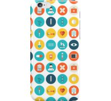 Medical Modern Icon Pattern iPhone Case/Skin