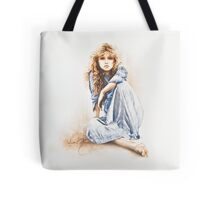 """Hippy Girl"" by Sara Moon Tote Bag"