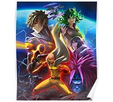 ONE PUNCH!!!! Poster