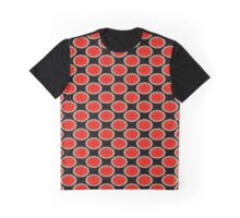 Orange Circles Graphic T-Shirt