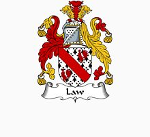 Law Coat of Arms / Law Family Crest Unisex T-Shirt