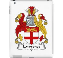 Lawrence Coat of Arms / Lawrence Family Crest iPad Case/Skin