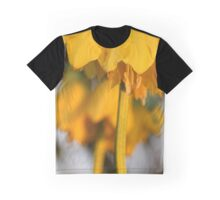 Yellow Kaiser's crown Graphic T-Shirt