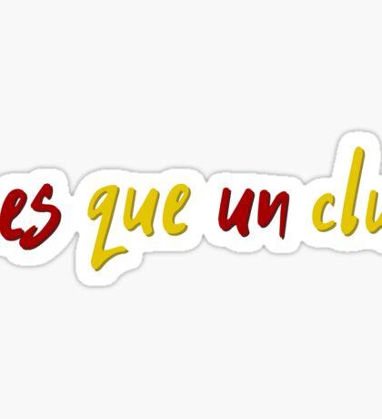 FCB Barca Fc Barcelona Football Club T-Shirts Sticker
