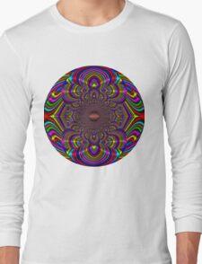 Silk Mandala II - Peace Multi Long Sleeve T-Shirt