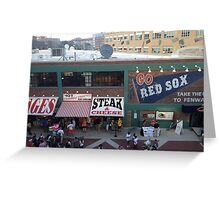 Go Red Sox! Greeting Card