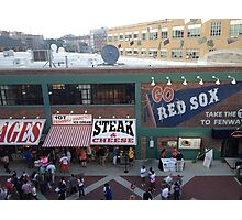 Go Red Sox! Photographic Print