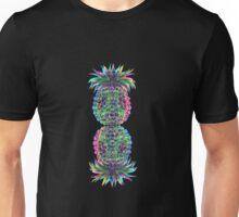abstract peneaple multicolour Unisex T-Shirt