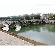 Bridge over Rome Photographic Print