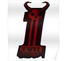 EVIL HORNS DC No1 Poster