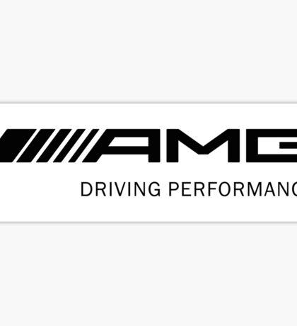 AMG 6 Sticker