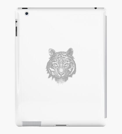 Tiger Stamp iPad Case/Skin