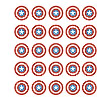 CAPTAIN AMERICA RETRO PILLOWS by shooterch