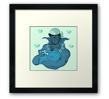 Archie and baby Spheal Framed Print