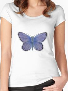 Karner Blue Butterfly Women's Fitted Scoop T-Shirt