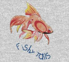 Lots of Fishy Tails T-shirt, etc. design One Piece - Long Sleeve